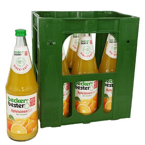 Beckers Bester Apfelsinen Direktsaft