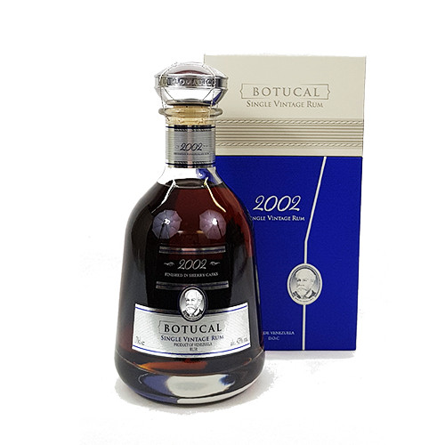 Botucal Single Vintage 2002 Rum 43%