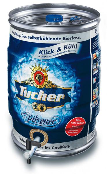 Tucher Pilsener 20 Ltr. CoolKeg