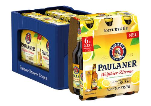 Paulaner Hefe Zitrone Alkoholfrei