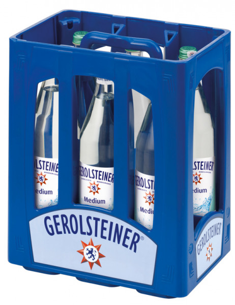 Gerolsteiner Medium (Glas-Flaschen)