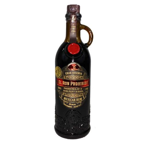 Prohibido Rum Solera 15 40%