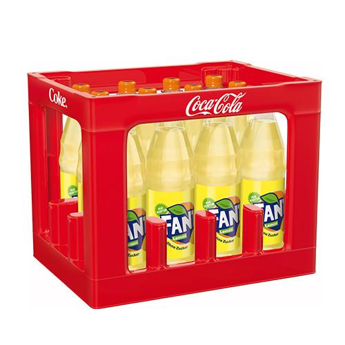 Fanta Lemon ohne Zucker