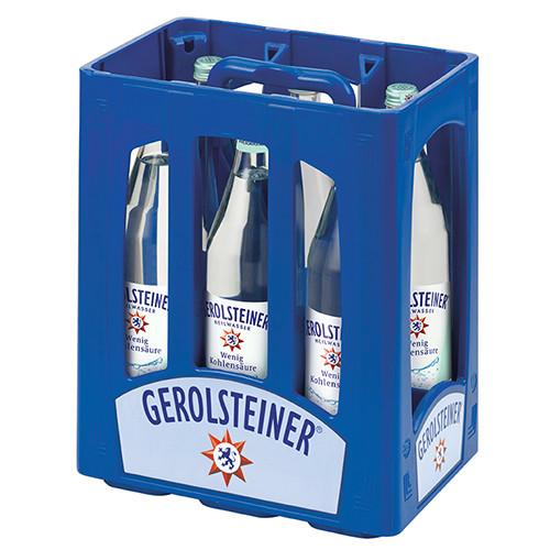Gerolsteiner Heilwasser (Glas-Flaschen)