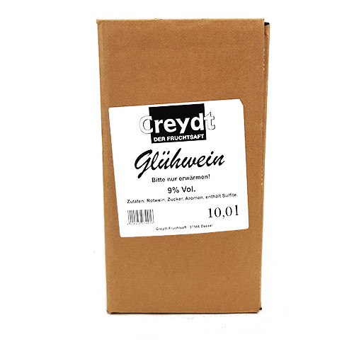 Creydt Glühwein Rot 9% Bag in Box