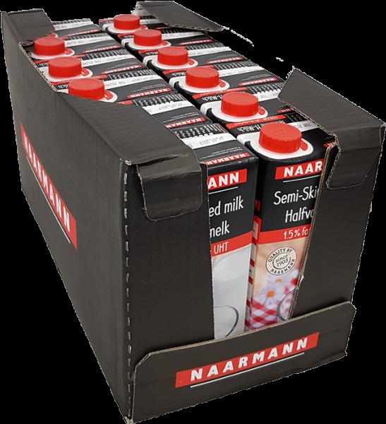H-Milch Naarmann ultrahocherhitzt 1,5% Fett