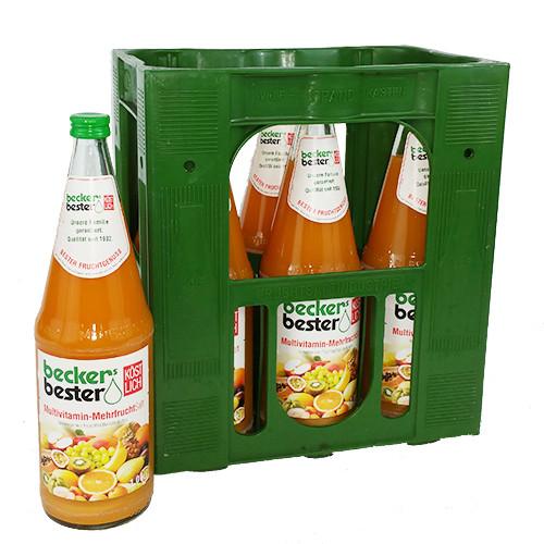 Beckers Bester Milder Multi-Mehrfruchtsaft
