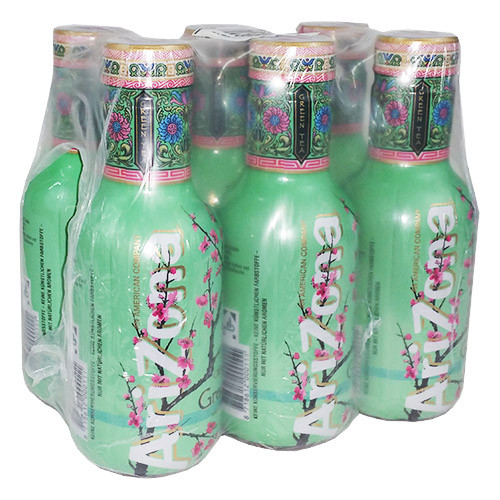 AriZona Green Tea mit Honig 6x0,5 DPG