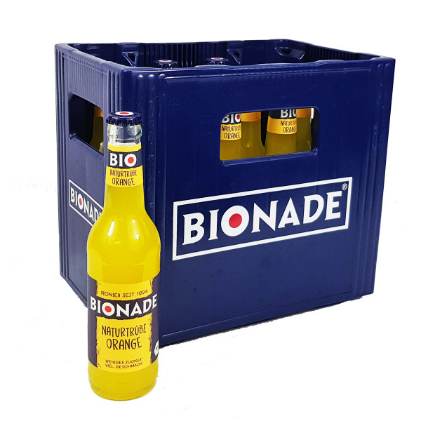 BIONADE naturtrübe Orange